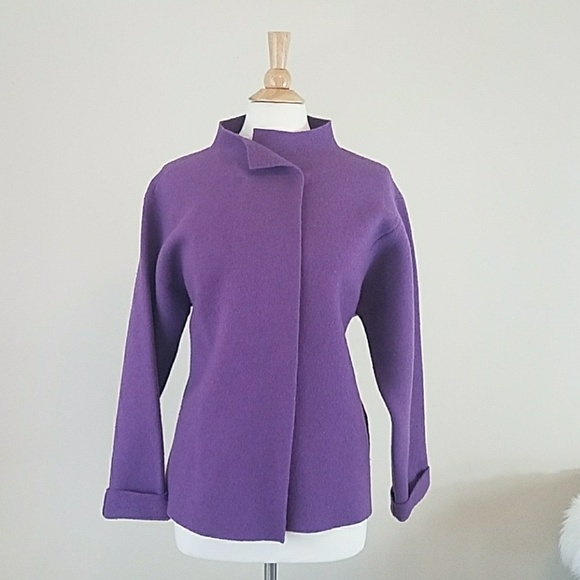 Eileen Fisher Jackets & Blazers - Eileen Fisher Purple Jacket